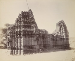 General view of Temple of Bhavani, Tahakari